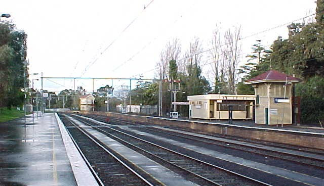 Flemington Racecourse Railway Station