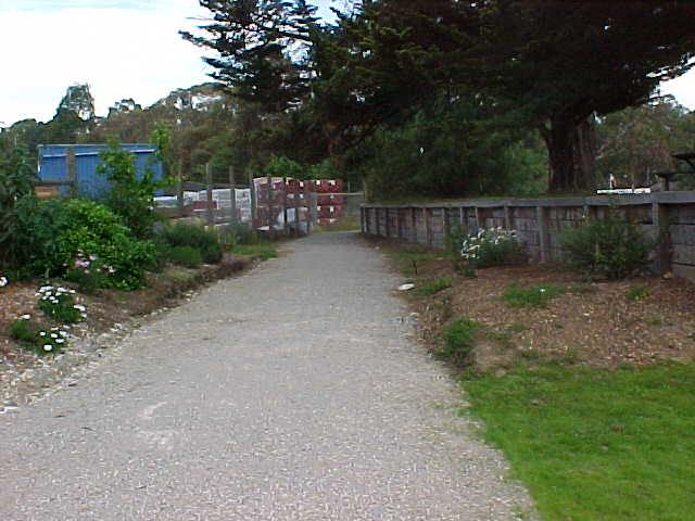 Mt Evelyn station site looking DOWN